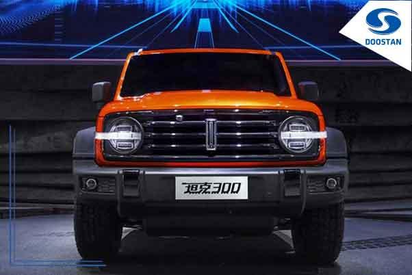 خودروی شاسی بلند گریتوال تانک ۳۰۰ رسما معرفی شد